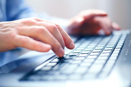 Ergonomische Tastatur Eingabe